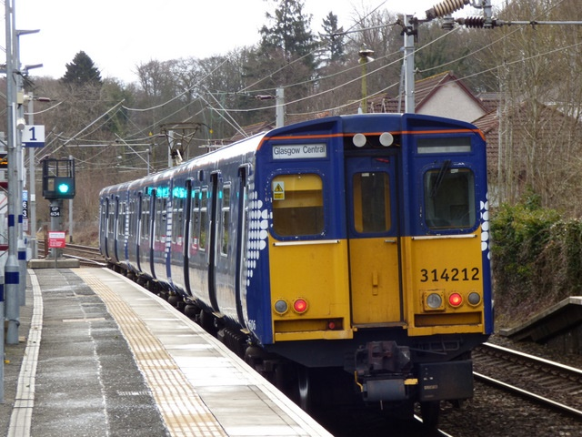 Last of ScotRail's Class 314 fleet to be withdrawn