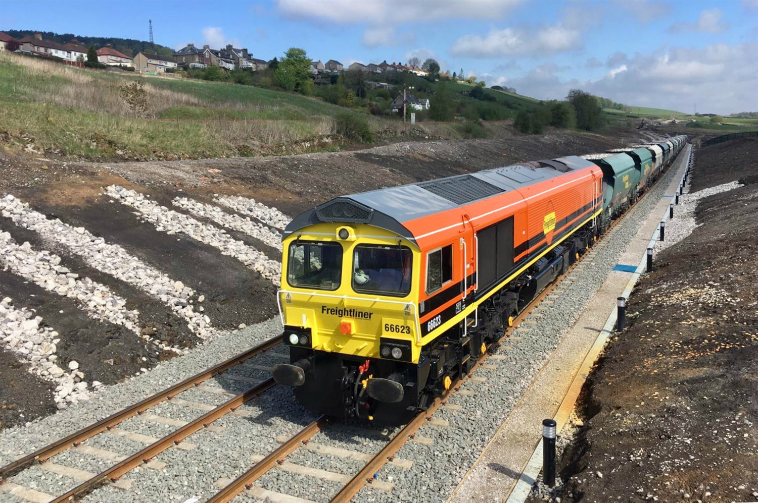 £14m Peak District rail freight extension unveiled