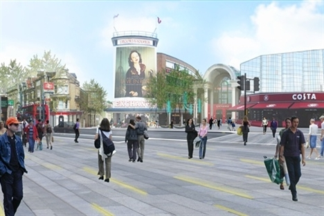 £30m TfL funding for Crossrail public realm scheme