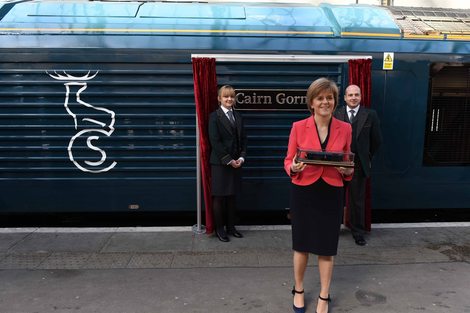 Serco launches new Caledonian Sleeper livery