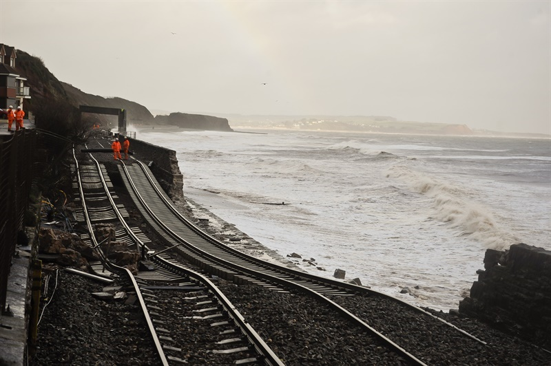 Further study of new route via Okehampton as Dawlish alternative