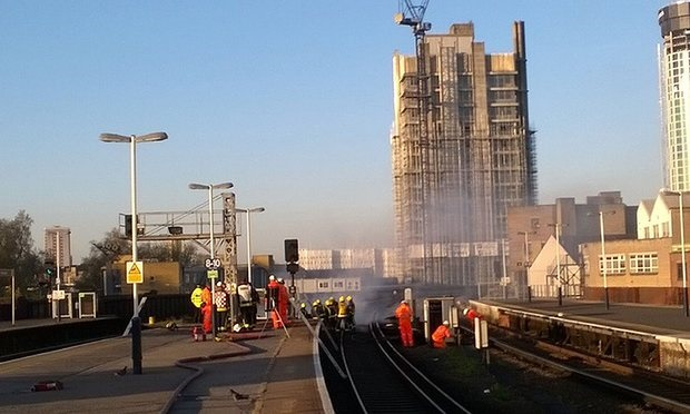 Major disruptions for South West Trains after Vauxhall Station fire