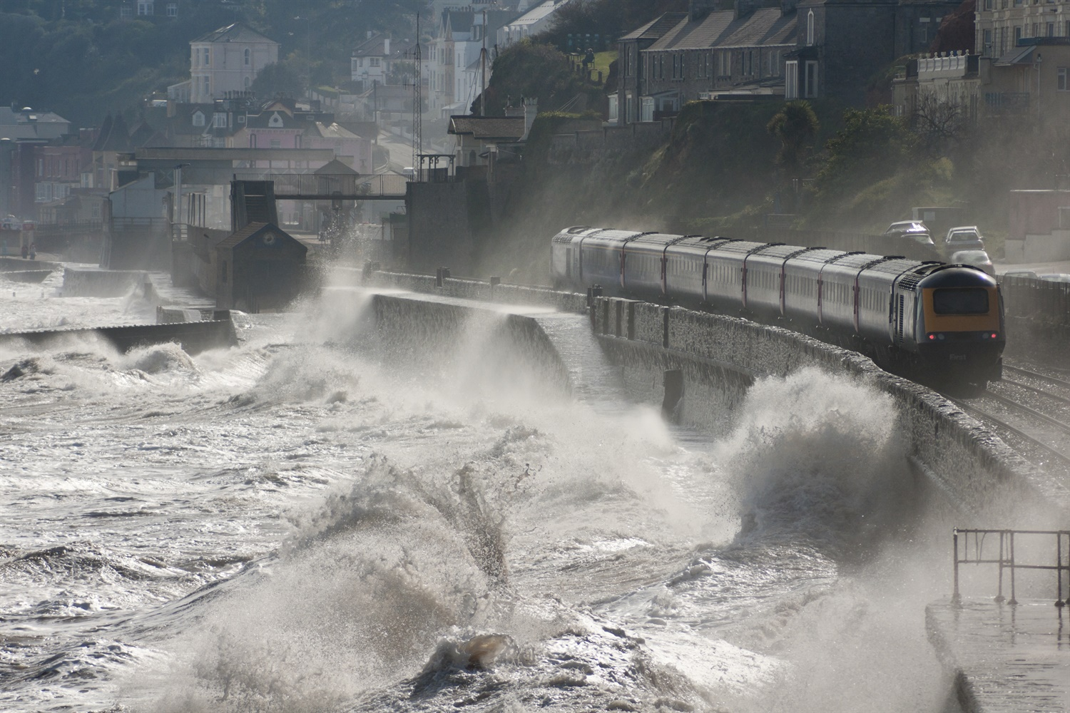 Battered Dawlish rail line gets £80m for new protective sea wall