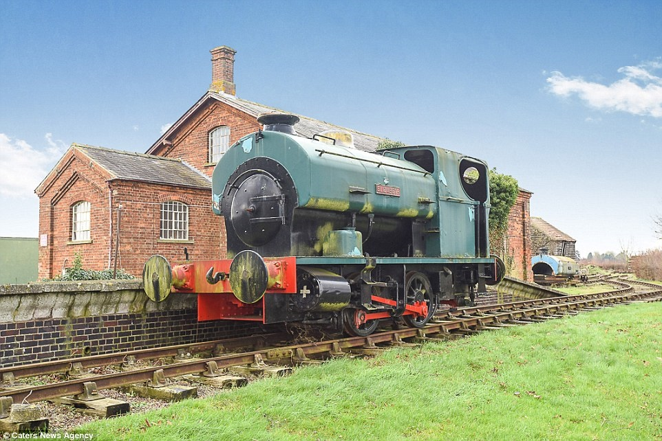 Your chance to live in a railway station… complete with its own train