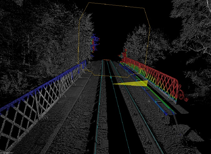 Track-based 3D scanner accurately models rail network in industry first