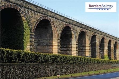 Borders Railway contract awarded to Bam Nuttall