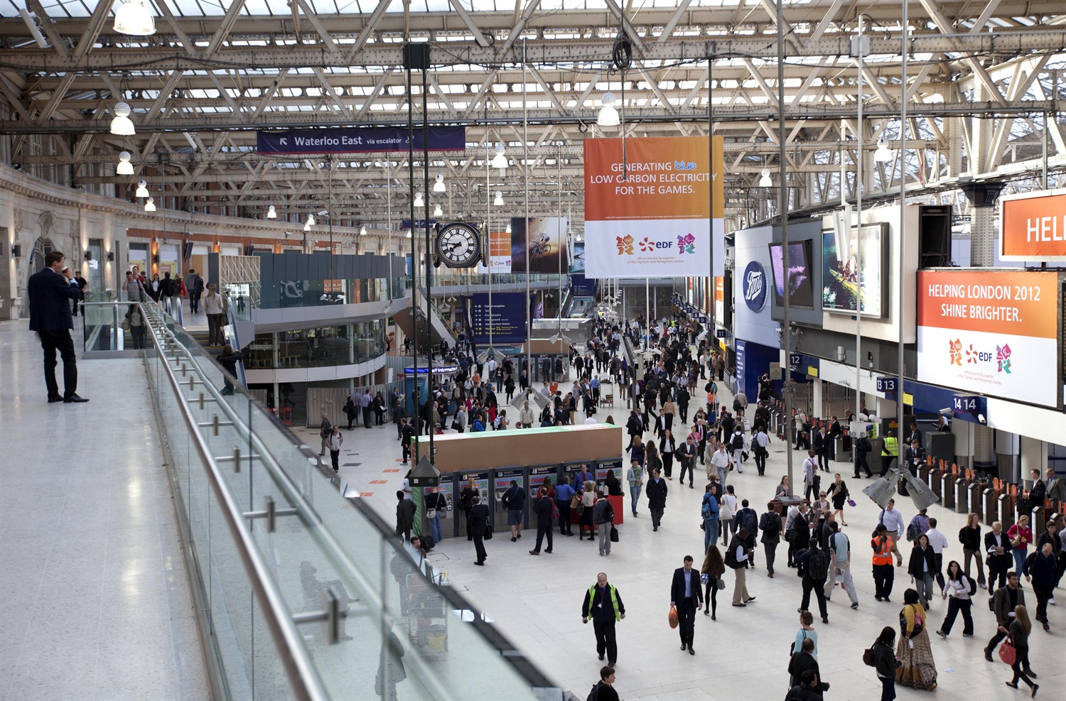First major changes to Waterloo station since the 1930s