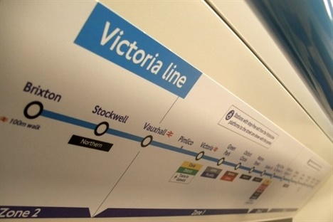 Transformation works begin on Victoria Line crossover