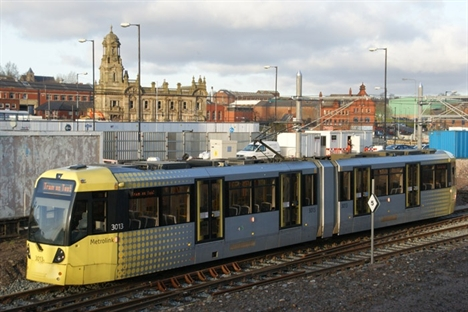 New Metrolink line opens to Oldham