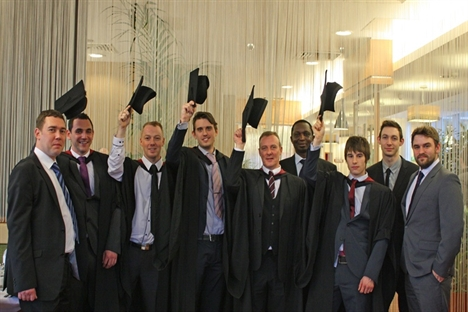 Network Rail apprentices gain engineering degrees