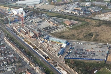 Contractors shortlisted for permanent Crossrail London depot