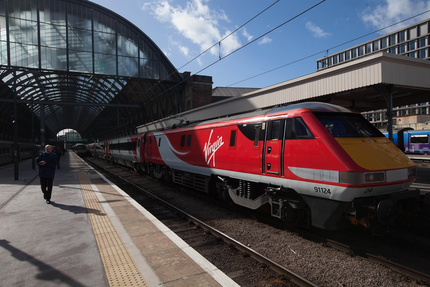 Virgin set 59 second punctuality target