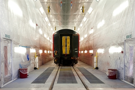 South West Trains opens new paint depot