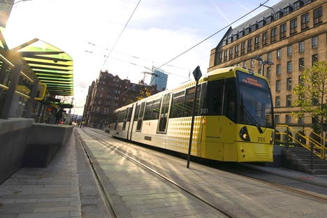 Summer works will see Metrolink's future Trafford Park extension linked to Eccles line