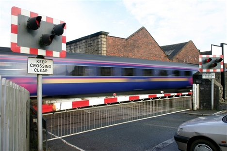Two dead in level crossing crash