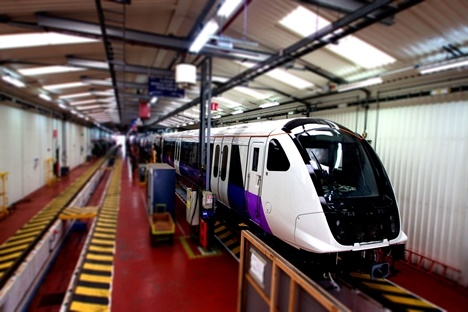 Crossrail driver simulator installed at Ilford as fleet testing progresses