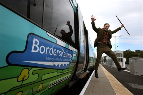 Scottish Borders tourism soars for the first time in 10 years – all thanks to rail