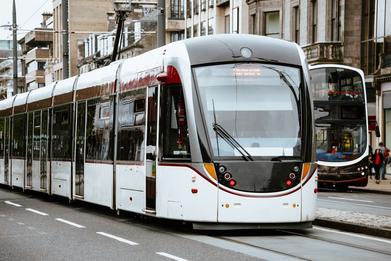 Urgent safety advice calls for louder horns on Edinburgh trams after pedestrian's death