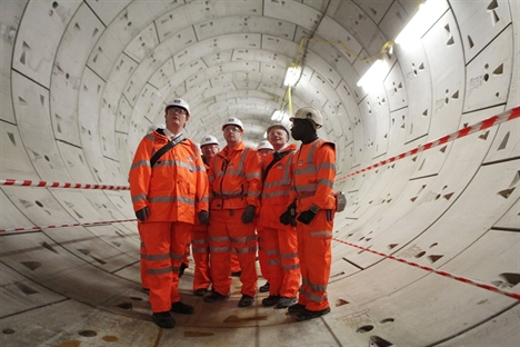 'Phyllis' completes first Crossrail tunnel