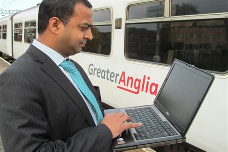 Greater Anglia rolls out free wi-fi