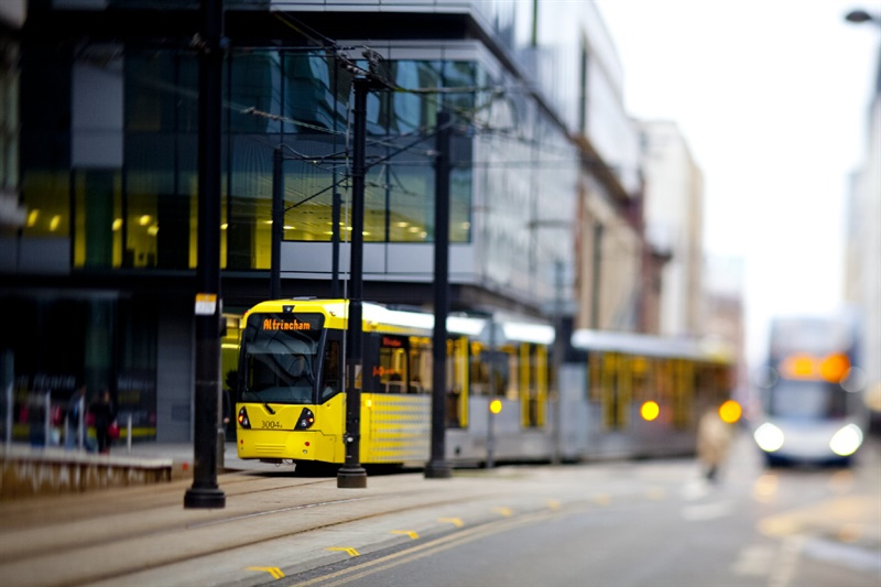 Opening date set for new Metrolink line to Manchester Airport