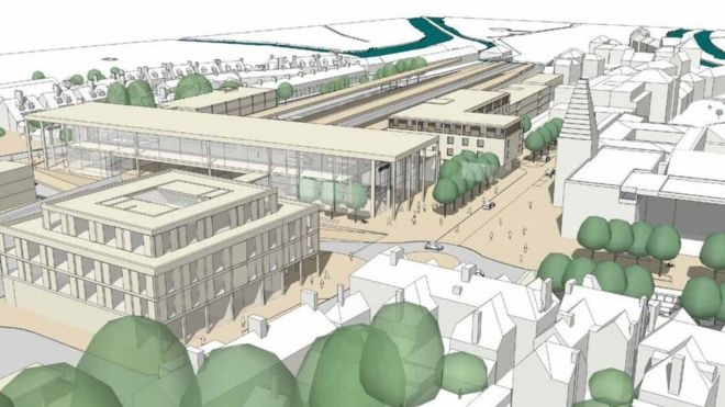 Plans for £125m Oxford station revamp unveiled