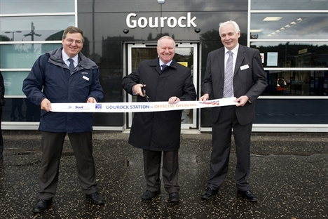 New £8m Gourock station unveiled