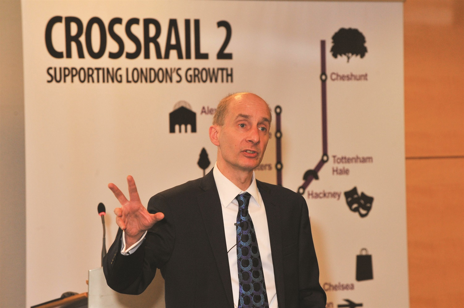 £100bn Adonis commission to help shape Crossrail 2 and HS3