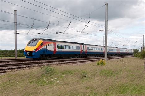 Record 125mph reached on Midland Main Line test run