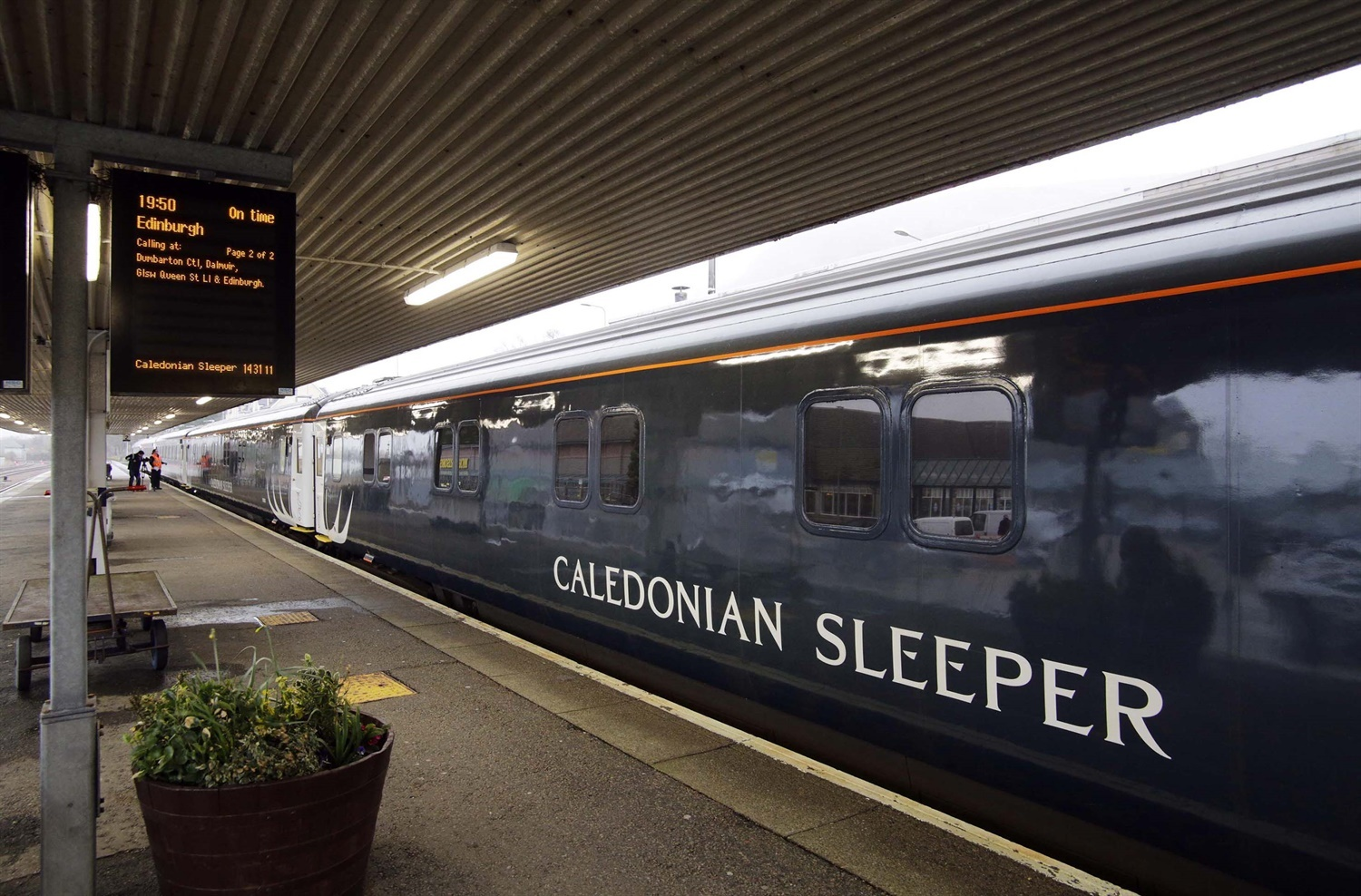 Caledonian Sleeper performance crashes in period 9