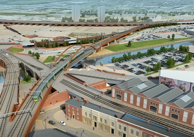 Ordsall Chord track works force station closures for 11 days