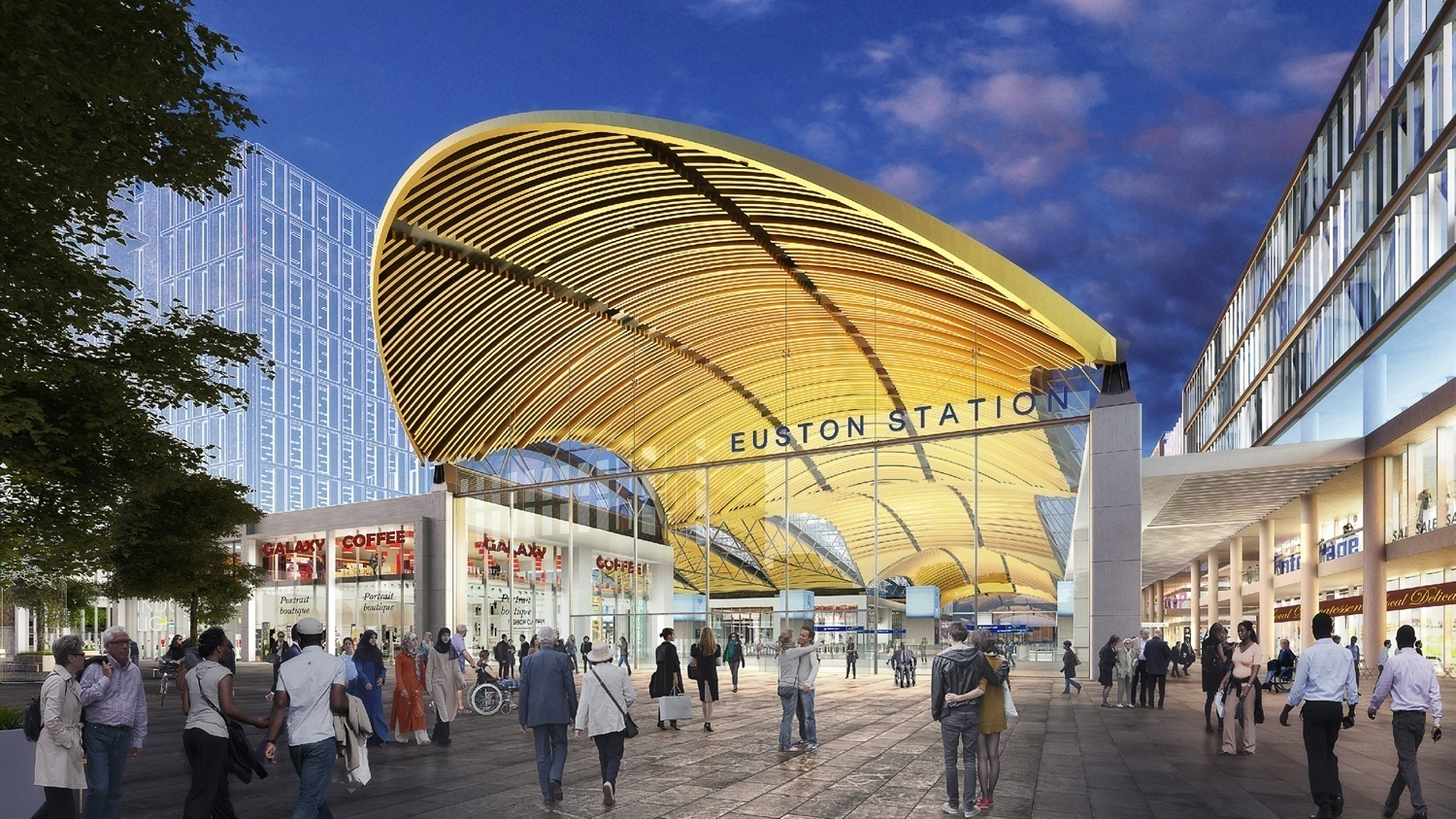 HS2 on the lookout for Euston station and Old Oak Common builders