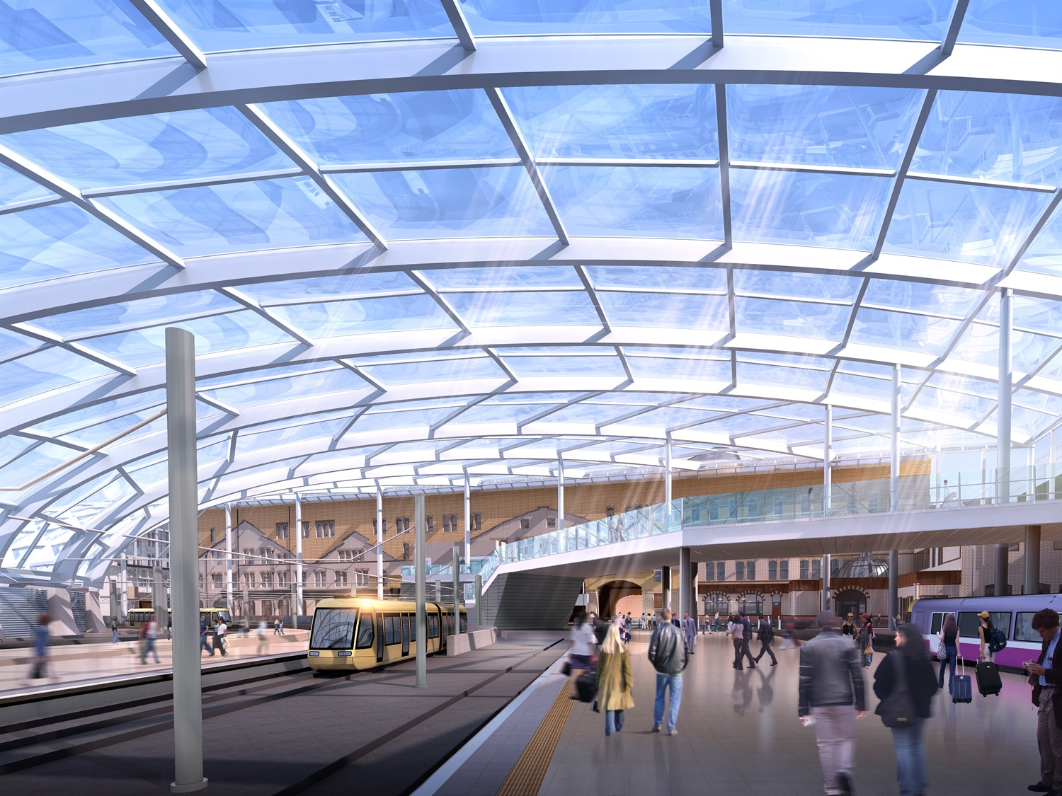 Manchester Victoria upgrades to be finished this month