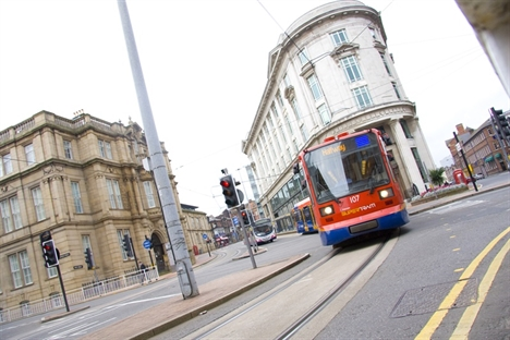 DfT funding Sheffield Supertram track replacement