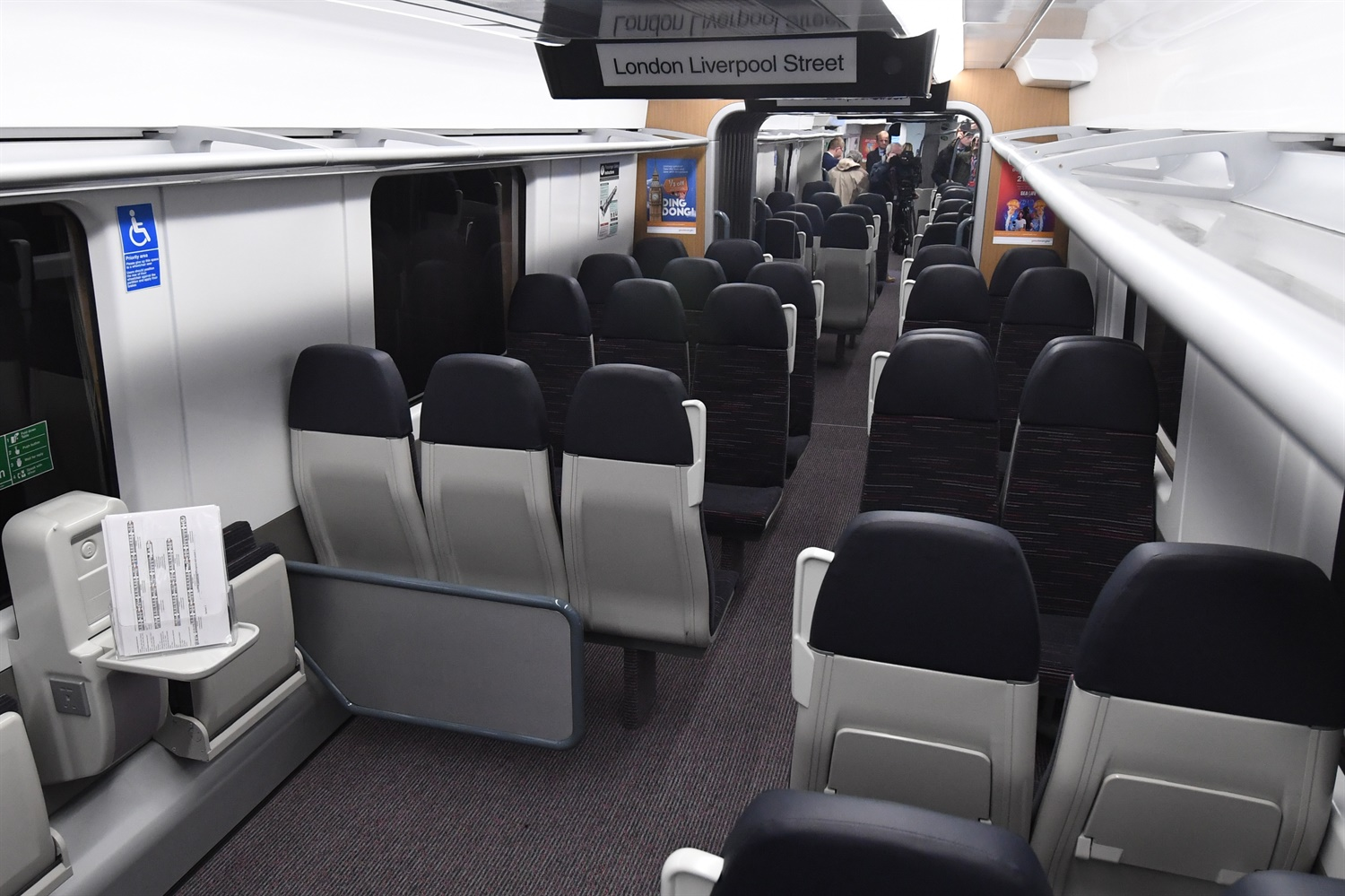 Greater Anglia unveils fresh mock-ups of new Bombardier fleet