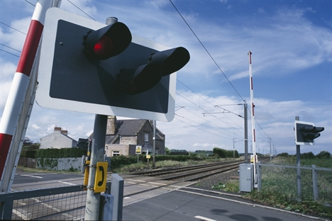 Level crossing car death in Norfolk