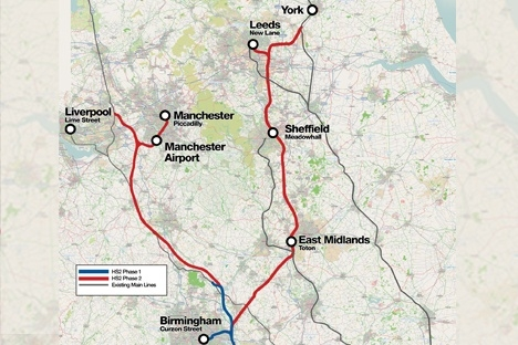 HS2 Ltd awards first contracts for phase 2