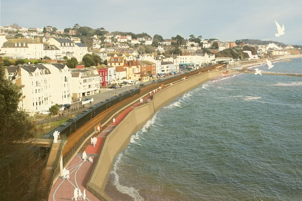 Network Rail reveals winner of Dawlish sea wall construction contract