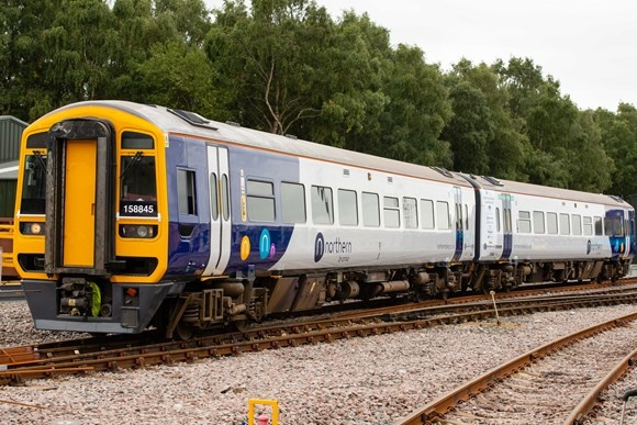Northern unveils new digital train for roll-out at end of year