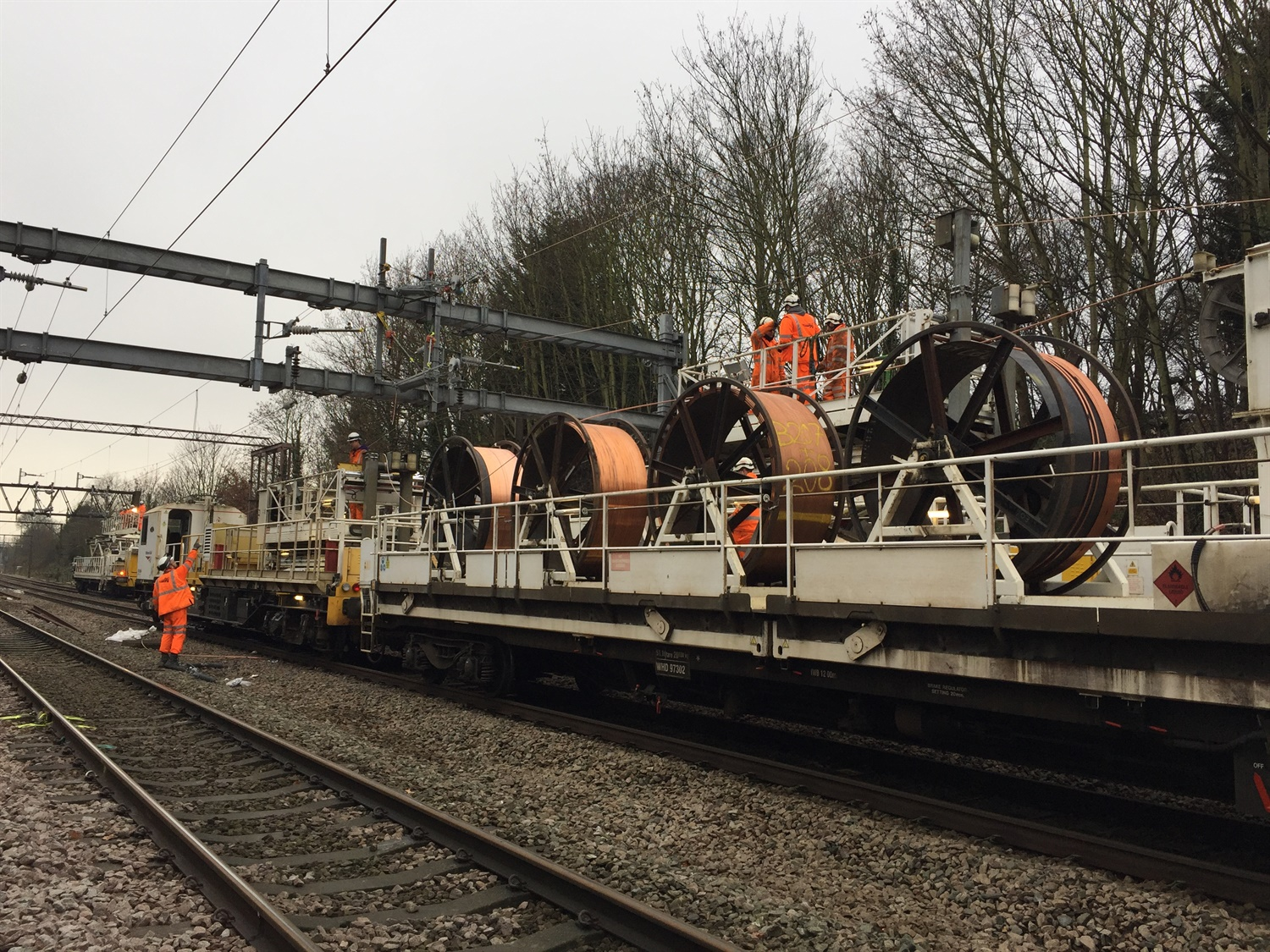 Norwich to London closures over Christmas as engineers replace 1950s wiring