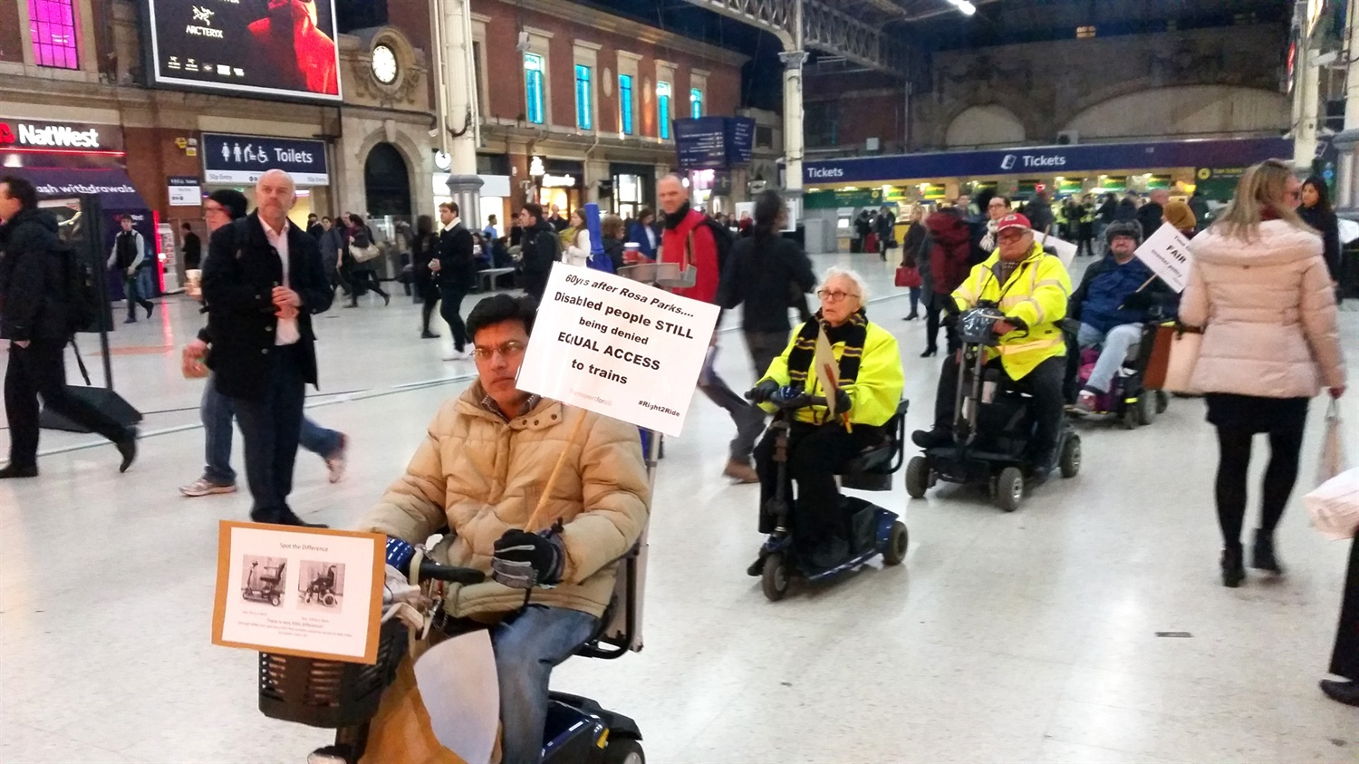 Disabled passenger numbers hit record levels