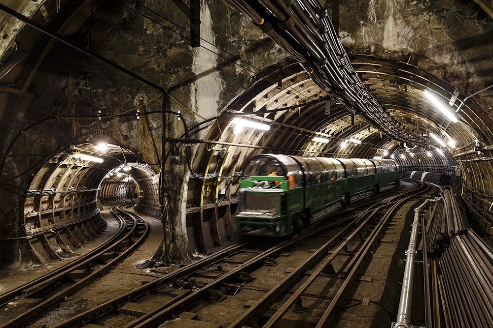 Londoners given peek at abandoned Mail Rail Underground line