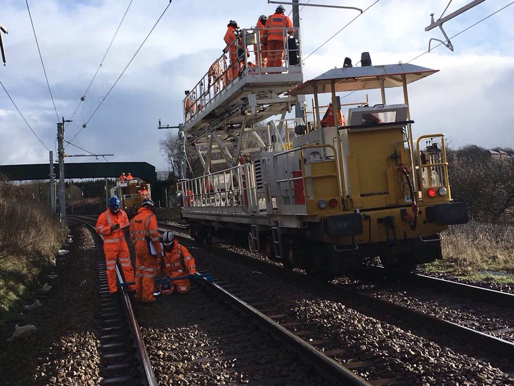 Manchester electrification 'accelerating' after Amey takeover, with 9 days of closures ahead