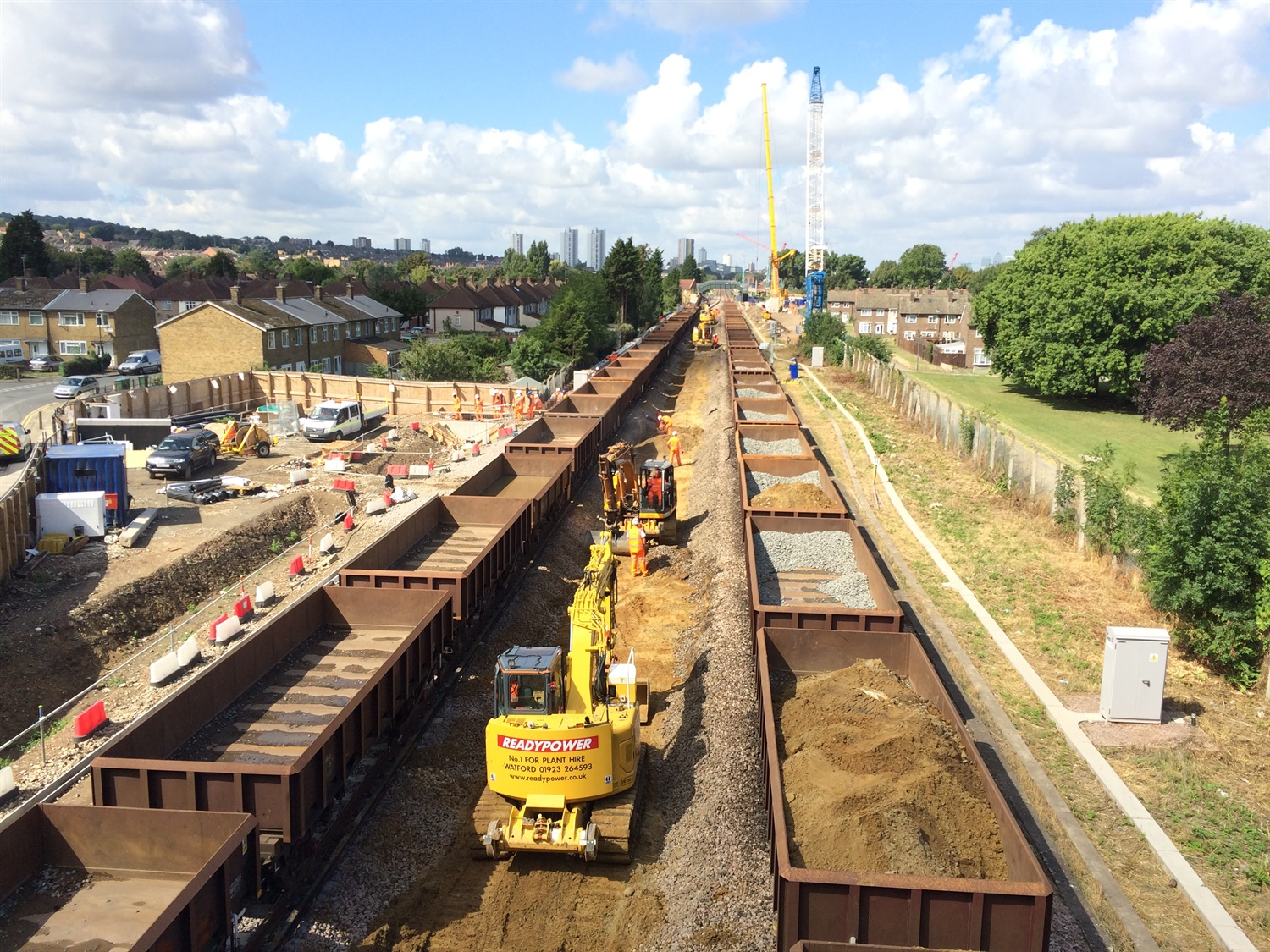 Abbey Wood Track Works 171142