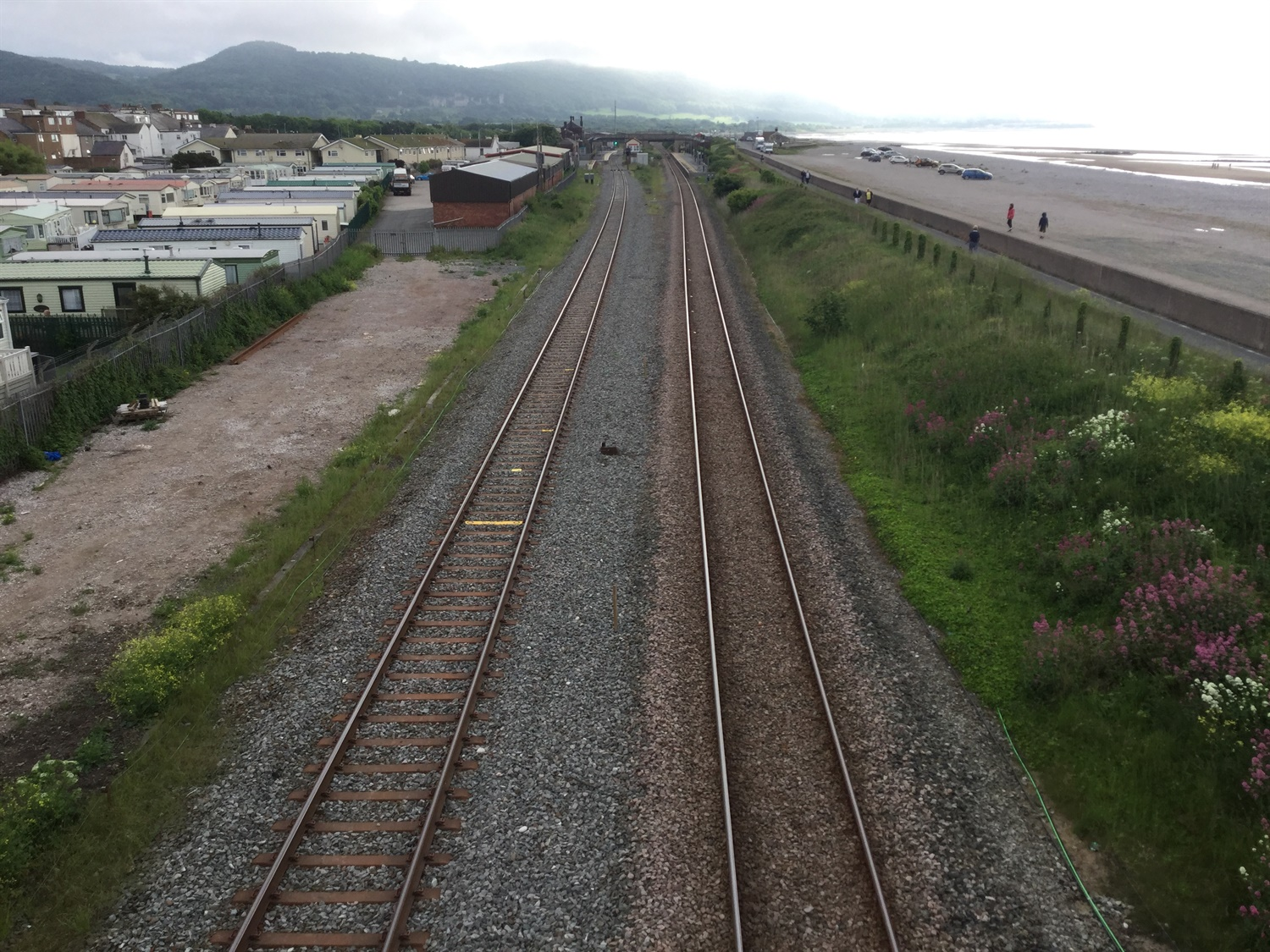 Abergele track upgrade completed as part of £50m North Wales improvement project