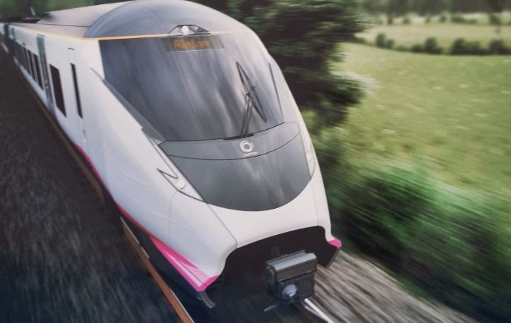 Alstom unveils new EMU for UK and launches CLever at Railtex
