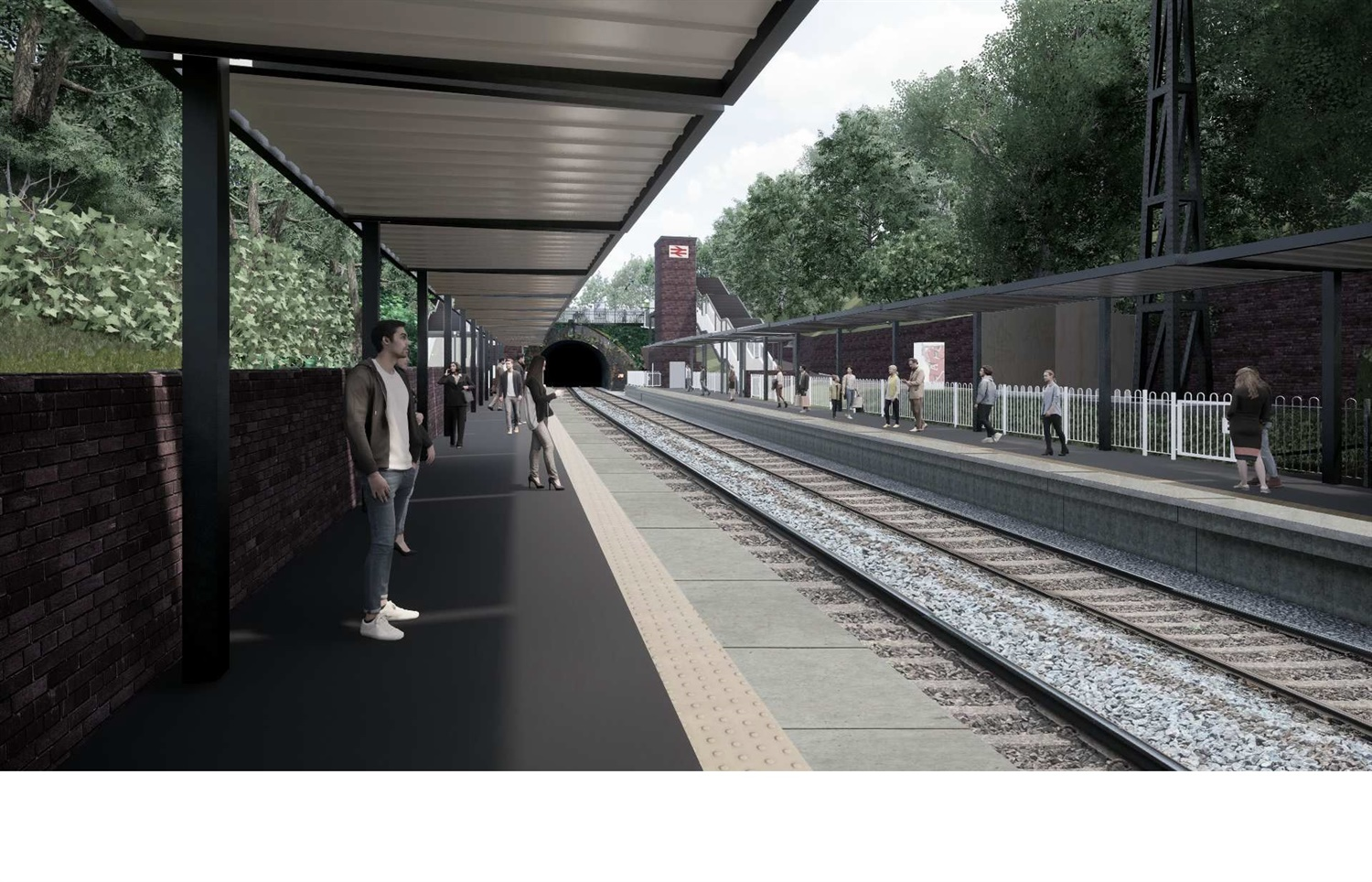 Plans submitted for new Moseley railway station