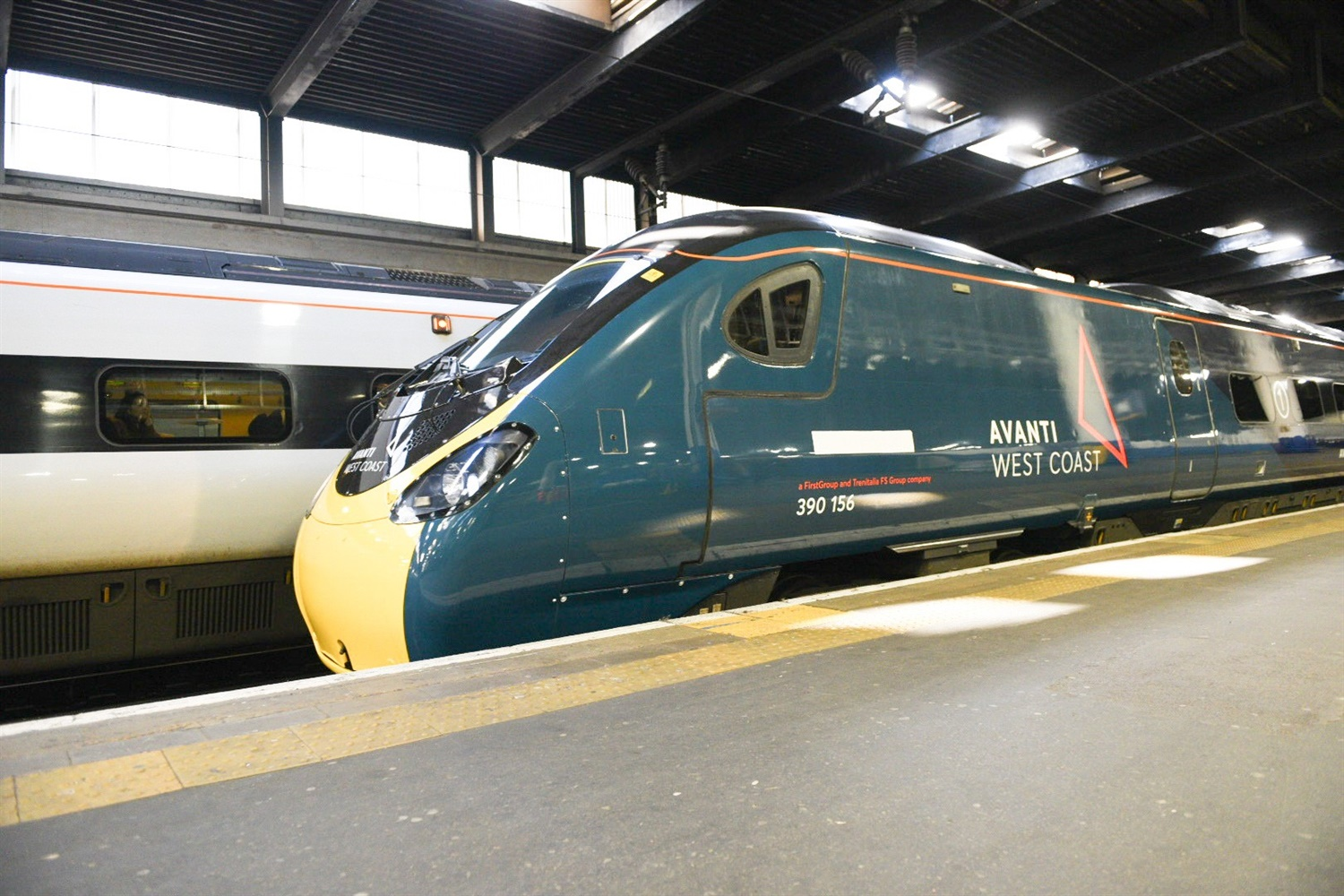 Avanti takeover of the West Coast Main Line begins