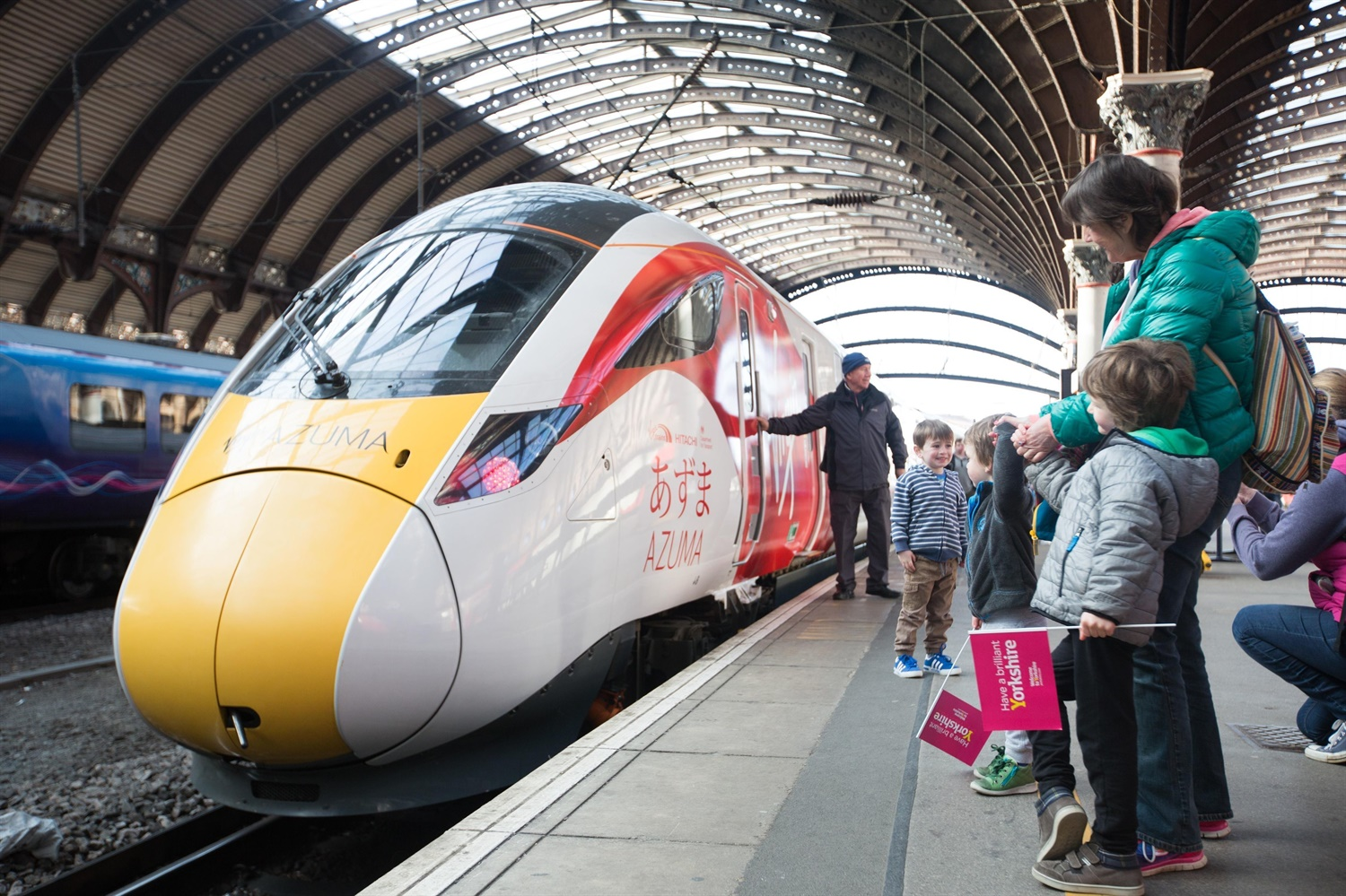 Still no date given for Azuma rollout on ECML by DfT