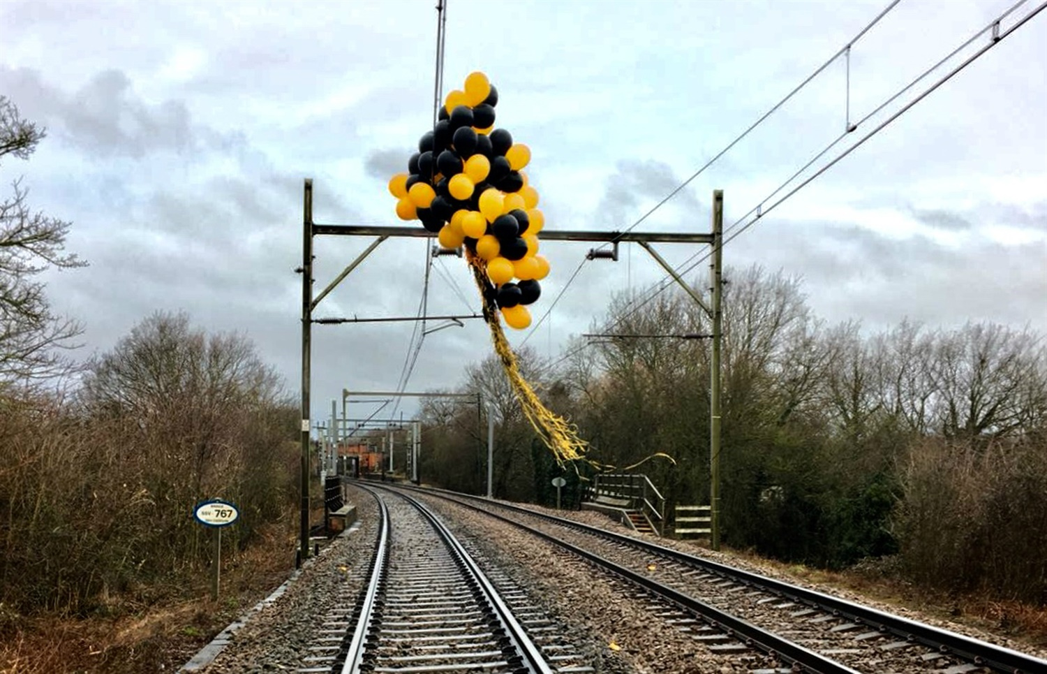 Helium balloons causing 'increasing number of train delays' at cost of £1m